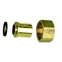 RACCORD GPL DROIT 2 PIECES G 3/4  A BRASER 18 + JOINT