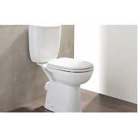 PACK WC NF 3/6 L AVEIRO CONFORT SURELEVE ABATTANT ABS
