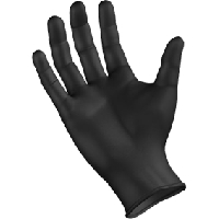 GANTS JETABLES BLACK MAMBA LOT DE 100 TAILLE XL