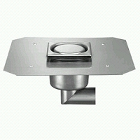 SIPHON INOX TELESCOPIQUE POUR ETANCHEITE CARRELAGE INVIOLABLE LATERAL