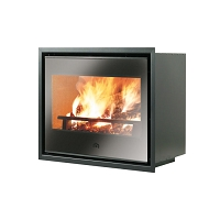 POELE A BOIS LUCE PLUS 54  A CONVECTION NATUREL 9 KW
