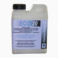 DESEMBOUANT DES INSTALLATIONS ECO 20 - 1 LITRE DOSAGE 1%