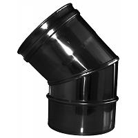 COUDE 45° DIFLUX 80/125 MM NOIR