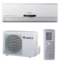 PAC AIR/AIR MONOSPLIT REVERSIBLE GREE U-CROWN 3800 W CHAUD/3500 W FROID