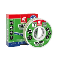 RUBAN KOLMAT FIBRE SEAL 15 M X 12 MM, REPOSITIONNABLE