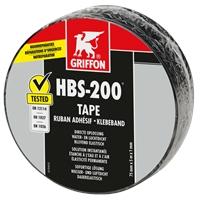 HBS-200 TAPE RUBAN ADHESIF D'ETANCHEITE ROULEAU 7.5 CM X 5 M
